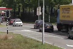 沃尔沃FE混合动力卡车 电瓶碰撞测试