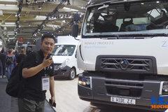 雷诺展出纯电动卡车 续航里程可达200公里