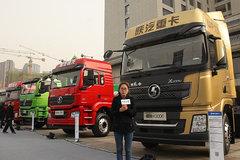 国内最大460马力LNG牵引车亮相 陕汽提前布局www.js77888.com市场