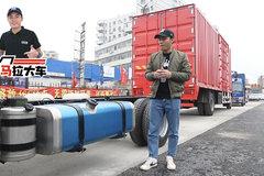 4米2蓝牌轻卡配300升大油箱 解放J6F有私人定制了!