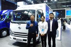 【上海车展】使用电驱桥更轻更节能 跃进EC101电动车满载续航325公里