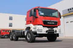 540马力6X6驱动,越野能力一流 这款德国MAN卡车配置够硬!