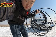 刹车气管强度测试:用轿车拔河,看看哪根管子先断裂!