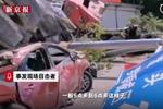 福建半挂车刹车失控致9死 目击者:都直接撞进集市里了