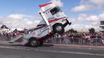 外洋才干看到的卡车格式驾驶 很猎奇这是怎样操纵的?