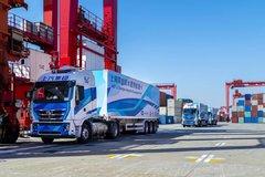 年内完成2万个集装箱运输 上汽5G智能重卡获工博会大奖