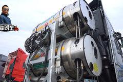 LNG气瓶容积做到了2600升 看它布置方案有啥技巧?