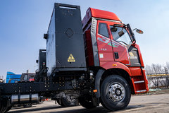可充电可换电 配AMT变速箱 解放J6P竟然有纯电牵引车!