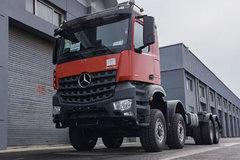 8×6驱动配橡胶减震 这台奔驰阿若克斯将打破你对卡车的理解