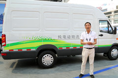 依维柯纯电植物流车 非承载式车身为货运添新助力