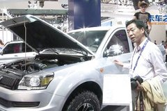 2014北京车展视频看车:猎豹CT5皮卡
