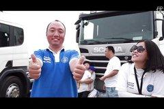 2014斯堪尼亚中国卡车驾驶员大赛深圳赛区