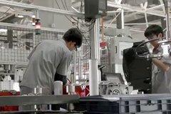 福田康明斯ISG生产过程