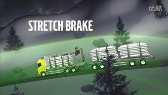 沃尔沃卡车全挂制动展示视频