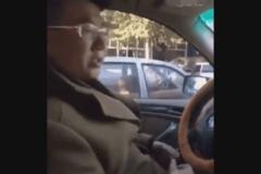 终于找到这段视频了!这开车的男人要火!