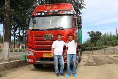 亲情满满 我们是开卡车的兄弟!