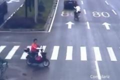 致公路上逃过一劫的行人: 你想过司机的感受吗