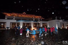 """""""中国重汽·品质鉴证之旅 西藏站""""之夜宴"""