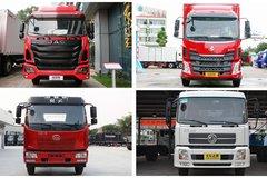 只看外观的话 这4款6.8米载货车你会选谁