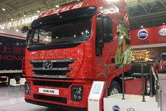 武汉车展现场最大动力 560马力红岩杰狮亮相