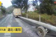 小货车司机这样拉货,交警都看懵逼了