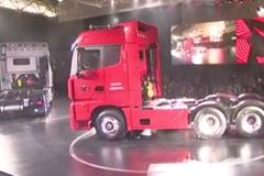 欧曼超级卡车上海上市