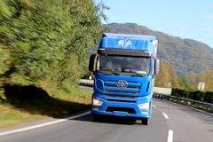 解放J7高速行驶 高空俯视国产第7代卡车是什么感觉?