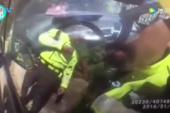 深圳交警砸爆车窗执法,却有上万网友点赞:做得好!