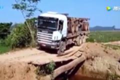 最牛的卡车司机集锦!这路况给你钱你敢去吗