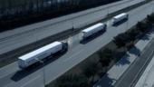 无人驾驶真的来了?!实拍自动行驶卡车队列!