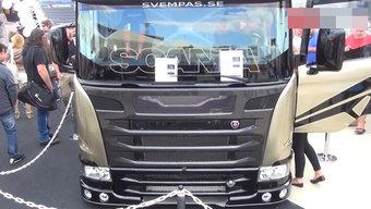 价值200多万的斯堪尼亚奇美拉2190hp卡车,我就看看