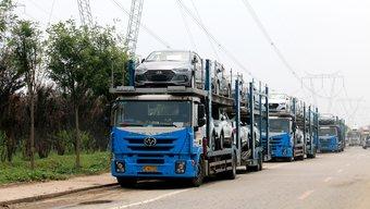 7月1日:违规轿运车禁止上路 卡车之家5地现场走访