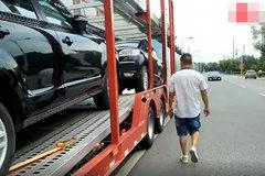 卡车司机拉小轿车,一趟能赚10000块钱,看是什么车