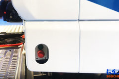 2018汉诺威车展:这款混动卡车的充电接口有点隐秘