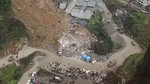 四川叙永滑坡点抢险新进展 省道S438已抢通 正安装排水管