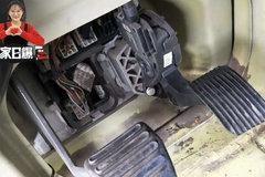 卡车油门踏板这样改完舒服多了!亲测有效