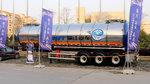 BPW车桥+盘式制动+空气悬架 中集瑞江领航版液罐车太有欧洲范