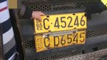 一车挂两牌,车主涉嫌套牌套证罚款6200元,货车被依法强制报废