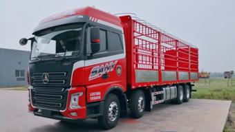 装康明斯X12发动机 三一重卡9米6载货车即将上市
