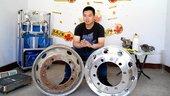 铁圈VS铝圈,实际重量大PK,铝圈到底轻多少?答案进来看