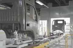 雪洁探秘跃进(三):商乘共线生产 喷漆工艺更高