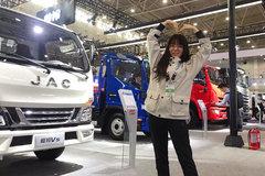 江淮展出全平台国六 从小到大各个车型都有