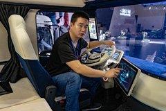 驾驶室像太空舱,后视镜是个液晶屏,东风概念车够科幻!