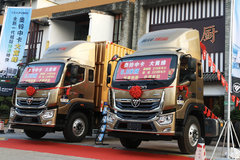 自重4.5吨能多拉500公斤 奥铃全新大黄蜂中卡广州劲爆上市