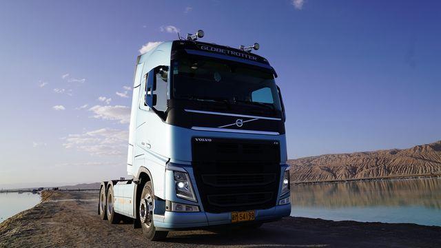 从东到西 穿越四季 索良和他的沃尔沃卡车奋进之旅