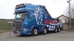 声音全面测试!记录斯堪尼亚580马力V8拖车的大嗓门
