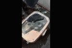 邵将修卡车:发动机动力严重不足,原来是隔热板将消音器堵死