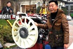 为啥要加大风扇?气体机温度高,散热不好容易烧气门,甚至缸盖报废