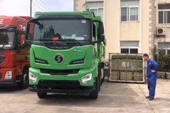 全国首发陕汽H6000国六自卸车 这造型你觉得咋样