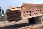 刹车技术联盟:史上最豪横卸货方式 车厢也直接给卸了